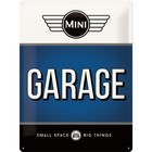 Nostalgic Art Tin Sign Mini Garage Blue 30x40