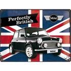 Nostalgic Art Tin Sign Mini Union Jack Perfectly British 40x30