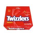 Twizzlers Twists Strawberry XXL box 180x 1.62 kilo!