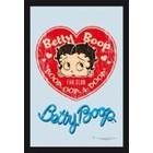 Printed Mirror Betty Boop Fan Club