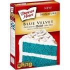 Duncan Hines Blue Velvet Cake Mix
