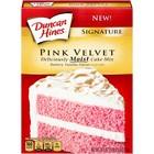 Duncan Hines Pink Velvet Cake Mix