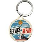 Nostalgic Art Key Chain Service Repair 4cm round