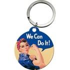 Nostalgic Art Key Chain We can do it 4cm round
