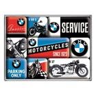 Nostalgic Art Magnet Set BMW Motorcycles 9x