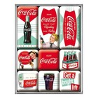 Nostalgic Art Magnet Set Coca Cola - Diner 9x
