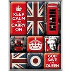 Nostalgic Art Magnet Set Engeland 9x