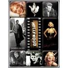 Nostalgic Art Magnet Set Hollywood Celebrities 9x