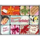 Nostalgic Art Magnet Set Its your Birthday! 9x
