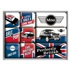 Nostalgic Art Magnet Set Mini Union Jack 9x