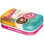 Nostalgic Art Mint Box Best Donuts