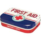 Nostalgic Art Mint Box First Aid Emergency