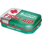 Nostalgic Art Mint Box First Aid Green