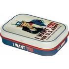Nostalgic Art Mint Box I Want You For U.S. Army