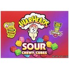 WarHeads Sour Chewy Cubes Theatrebox 6 flavors 113 grams