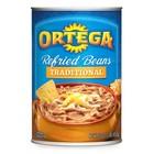 SHORTER BBD: Ortega Traditional Refried Beans USA 453 grams