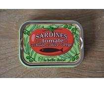 Sardines olijfolie tomaat
