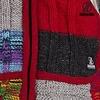 Rib Patchwork Multicolor, met ingebreide ribs