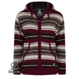 Shakaloha Pilgrim Woman Burgundy Grey