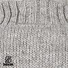 Shakaloha New Harta Grey Nepalese Hand Knit Wool Cardigan with inside fleece lining