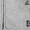 Shakaloha Parsa Classic Grey Wool Jacket Knit without hood, fleece lined