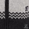 Long knit fleece lined woman's cardigan handmade in Nepal