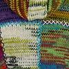 Shakaloha Dames Patchwork NH Vintage Wollen Vest gebried van pure wol