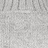 Shakaloha Flash Collar graue Strickjacke mit Stehkragen fÌ_r Damen und Herren