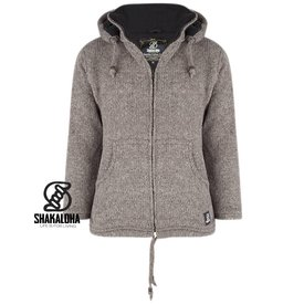 Shakaloha Flash Ziphood Choco Licht Bruin Taupe