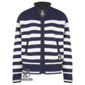 Shakaloha Woman Sailor Jacket MarineWh
