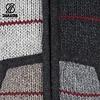 Patchwork Kapuzenjacke aus Schafwolle in Naturfarben fÌ_r MÌ_nner oder Unisex