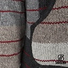 Handknitted Wool Jacket Patchwork Fade Natural Man or Unisex