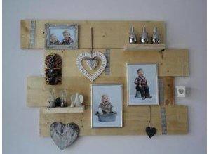 Decoratiebord steigerhout