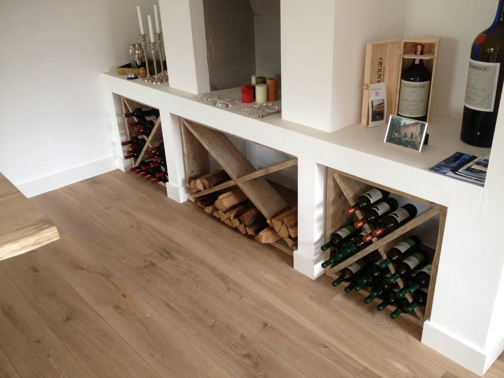 Vaak Steigerhouten Wijnrek - mijnmeubelshop.nl &CR91