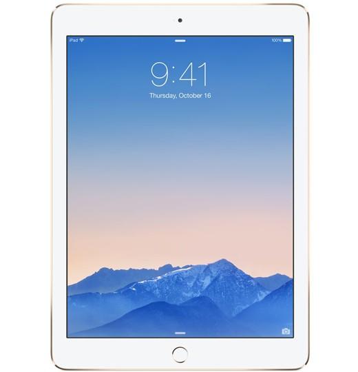iPad Air 2, 16 GB, Wifi + Cellular, Goud