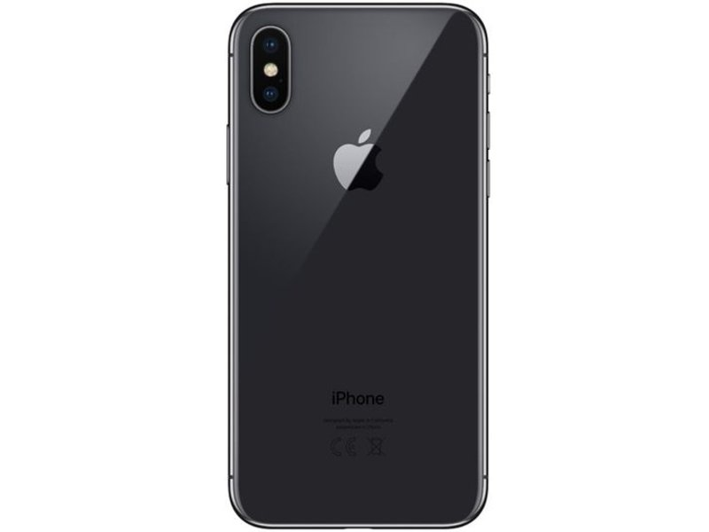 Apple iPhone X 64GB Grau