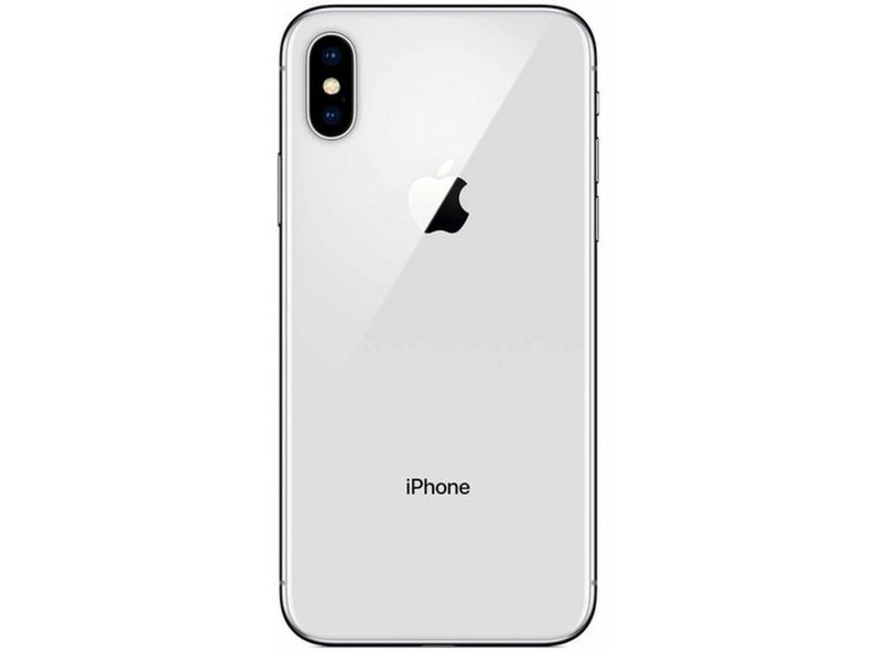 Apple iPhone X 256GB Silber