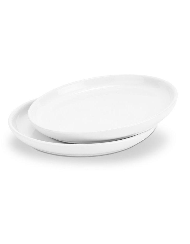It's About ROMI Bowl / coaster round white ceramics