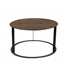 Lifestyle Rusty metal Coffetable L