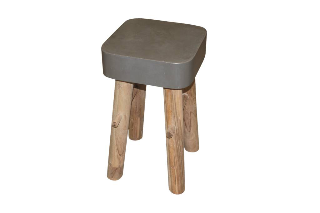 Muubs Stool concrete