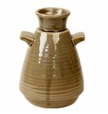 Dome Deco Keramik-Vase mit Griff