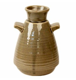 Dome Deco Ceramic Vase with handle