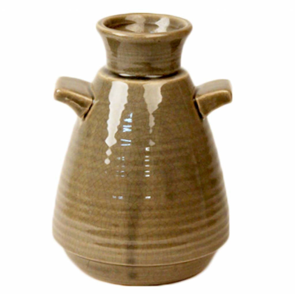 Dome deco ceramic vase with handle pracht interieur - Vase decoration interieur ...