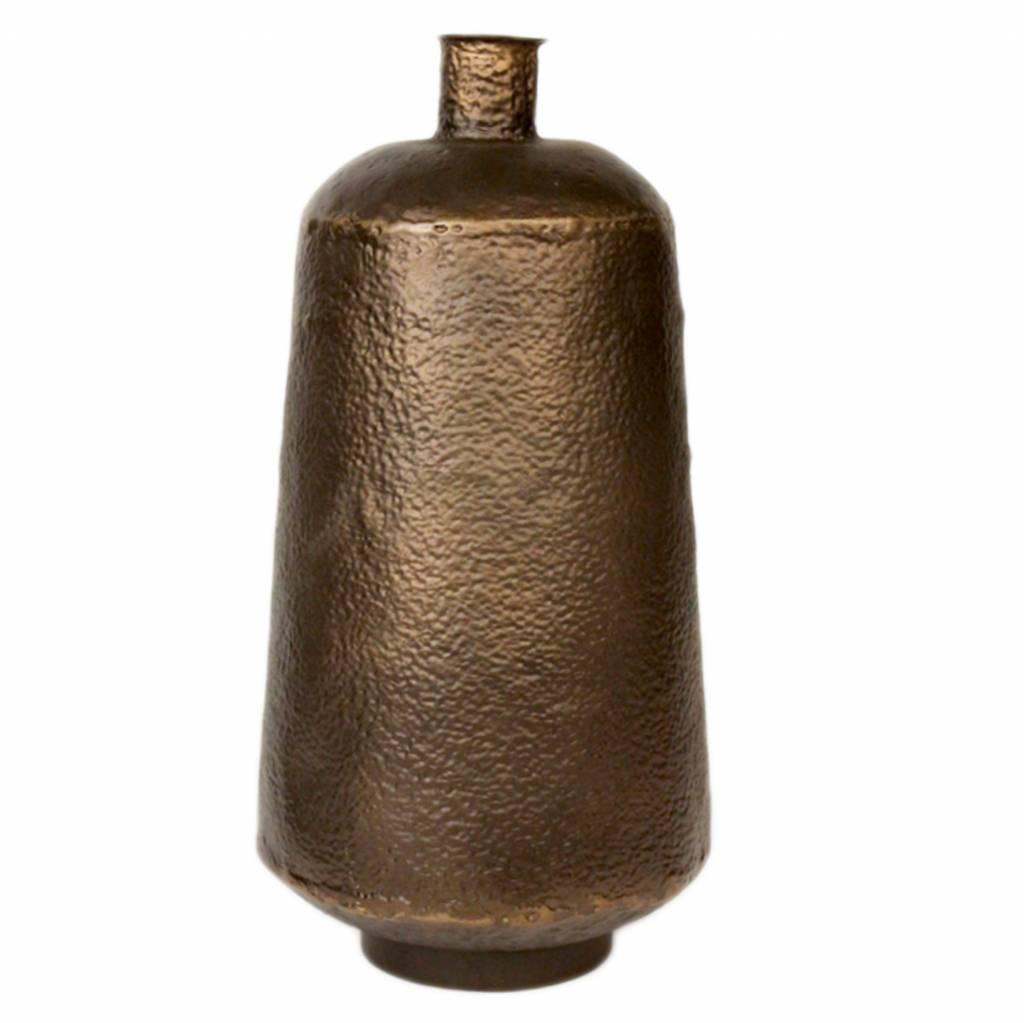 Dome deco iron bronze vase pracht interieur - Vase decoration interieur ...