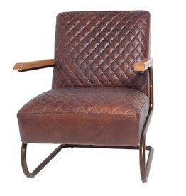Lifestyle Edward brown armchair