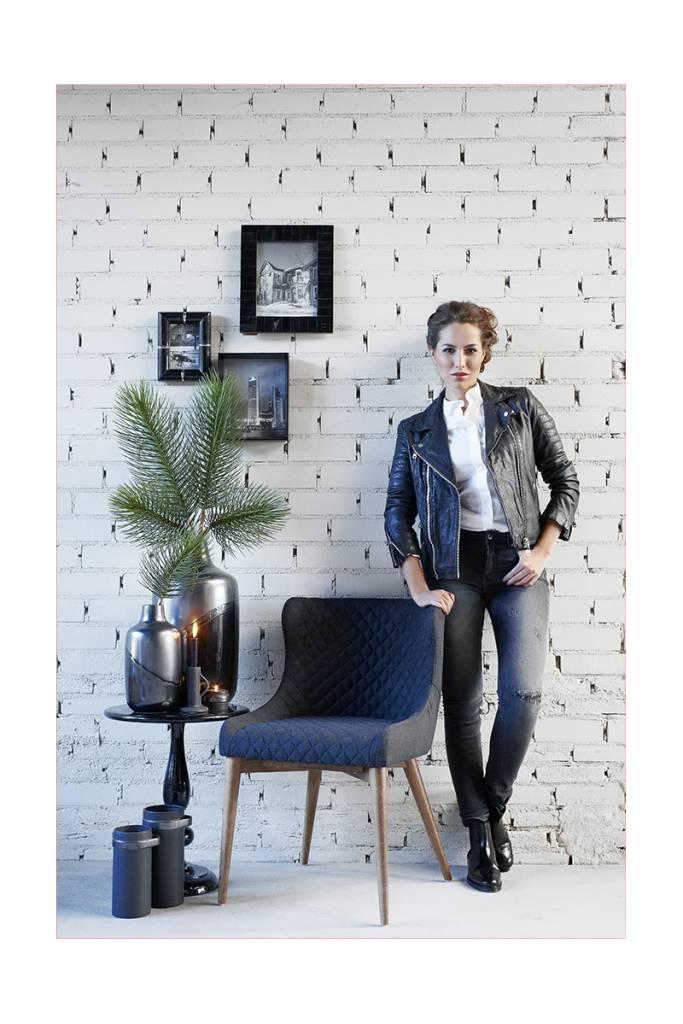 Lifestyle Hamilton Sessel schwarz / braun