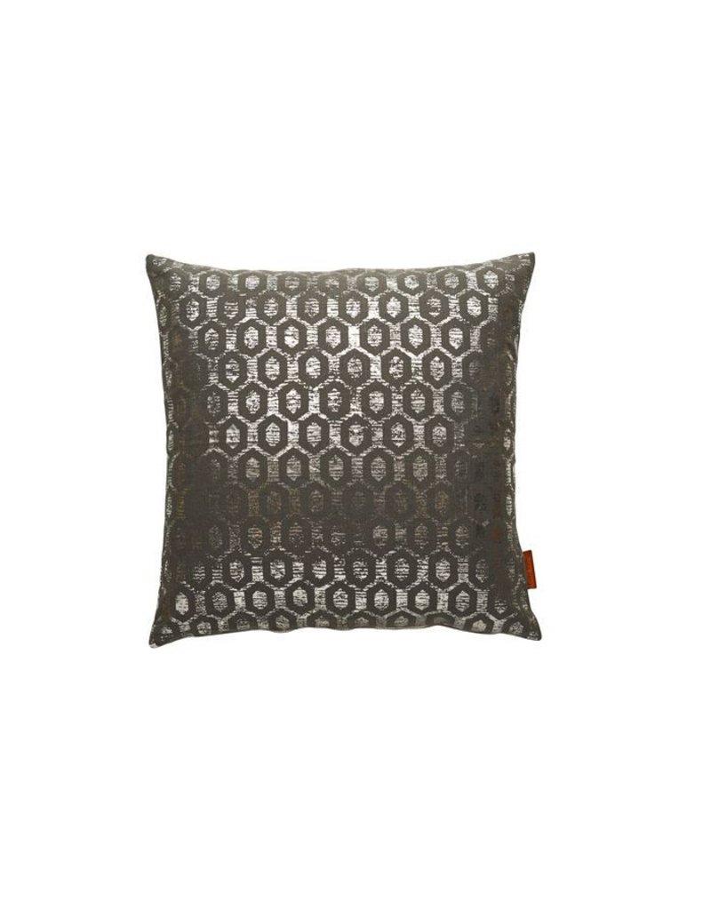 Cozy Living Cushion canvas ash / silver