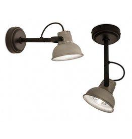 Tierlantijn Lighting Wall lamp Mazz (aluminum or black)