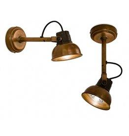 Tierlantijn Lighting Wandlamp Mazz koper