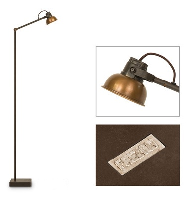 Frezoli Floor lamp Mazz copper